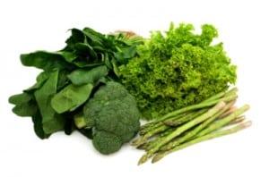 antyoxydanty zielone warzywa podczas menopauzy