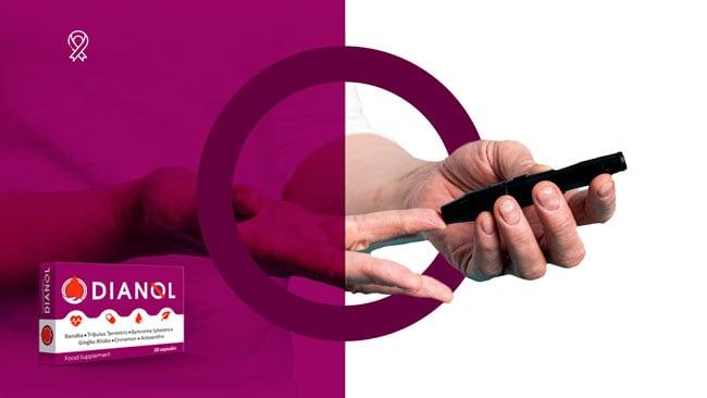 dianol wspomaga pracę trzustki i pomaga  walce z cukrzycą wspiera układ krwionośny