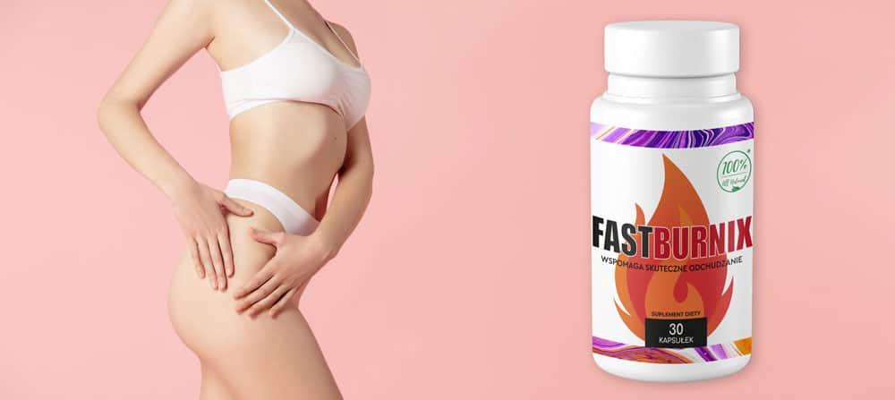 fastburnix skutecznie usunie nadmierną wagę tłuszcz