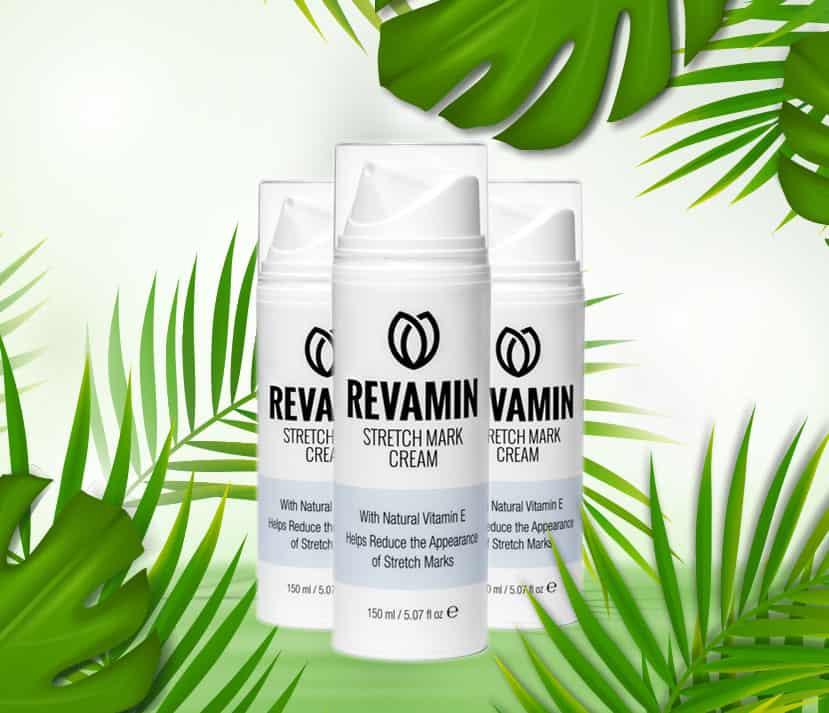 Revamin krem na rozstępy w składzie ma wyciągi z roślin jest całkowicie naturalny i bezpieczny
